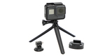 Крепления на штатив GoPro Tripod Mounts (ABQRT-002) комплект + камера