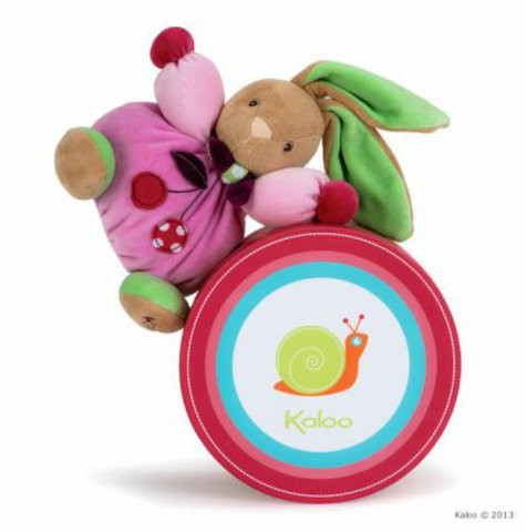 Kaloo. Мягкая игрушка Зайчик Вишенка