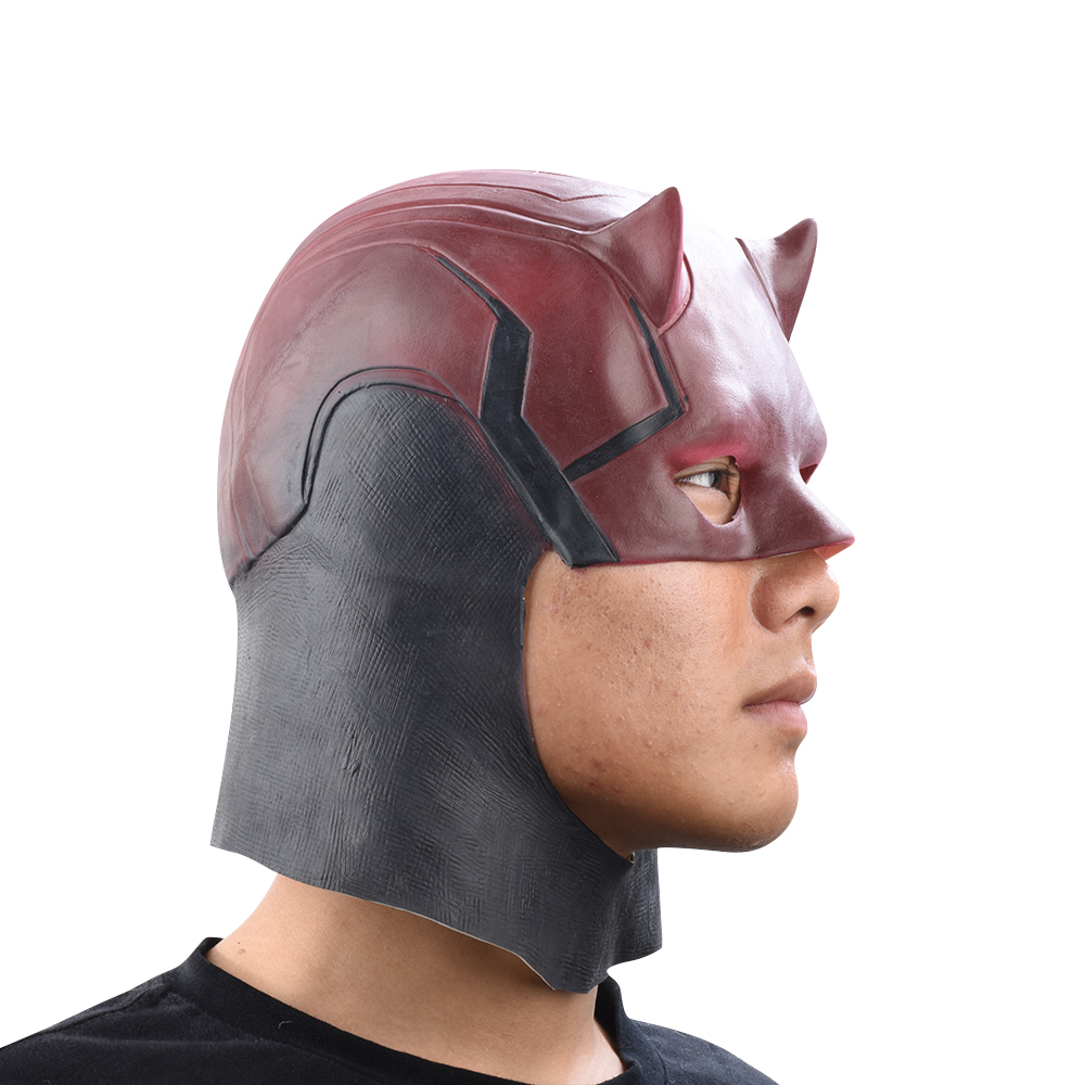 Сорвиголова маска из латекса — Daredevil Mask
