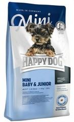 Корм для щенков и юниоров мелких пород Happy Dog Supreme Young - Mini Baby & Junior
