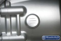 Заглушка коробки передач BMW серебро