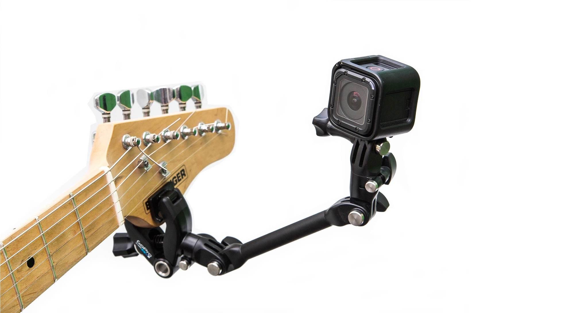 Крепление для музыкальных инструментов GoPro AMCLP-001 The Jam-Adjustable Music на гитаре