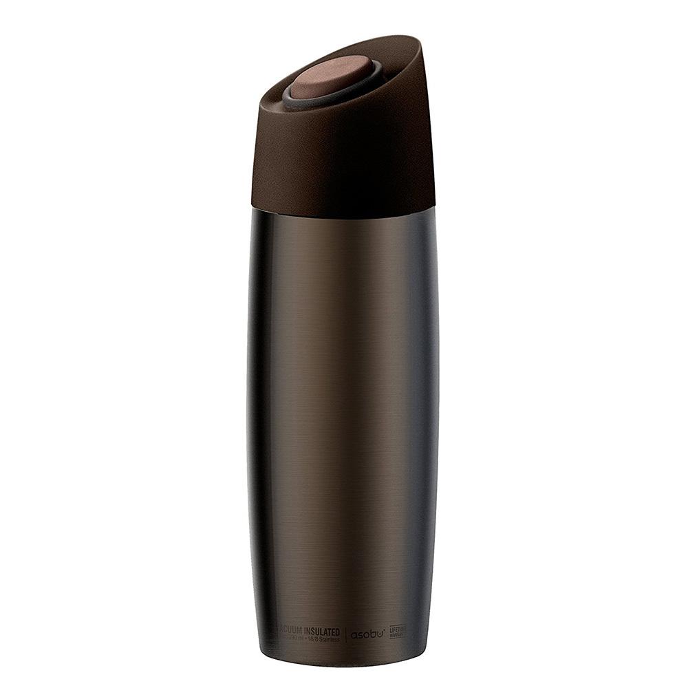 Термокружка Asobu 5Tth avenue (0,39 литра) коричневая*