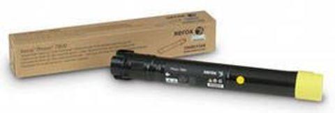 Тонер-картридж желтый Xerox 106R01572 для Phaser 7800. Ресурс 17200 страниц.