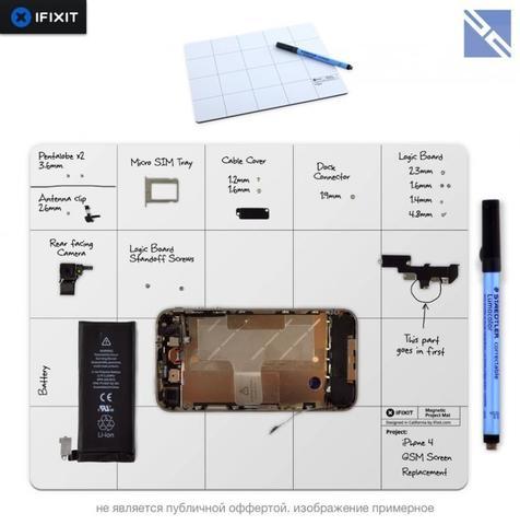 Коврик для ремонта iFixit Project Mat магнитный с маркером
