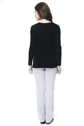 Блузка 06403 черный
