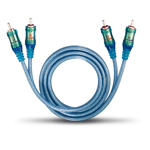 Oehlbach Master Connect Ice blue RCA 0.50m, кабель межблочный (#92021)
