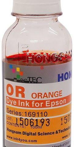 Чернила водные DCTec R1900ORD Orange 100мл. Серия 169600