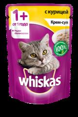 Whiskas  крем-суп с курицей 85 гр