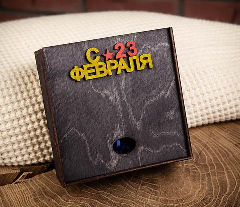 BOX213-1 Небольшая деревянная коробка