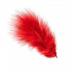 Перья Красные, 14*17 см, 30 шт.