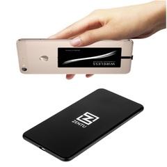 Комплект: беспроводная зарядка Zentu S7 black + приемник-ресивер qi USB-C