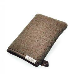 Рукавичка для бани 16x21 Hamam Galata Plain Soft коричневая