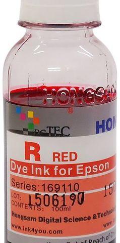 Чернила водные DCTec R1900RD Red 100мл. Серия 169600