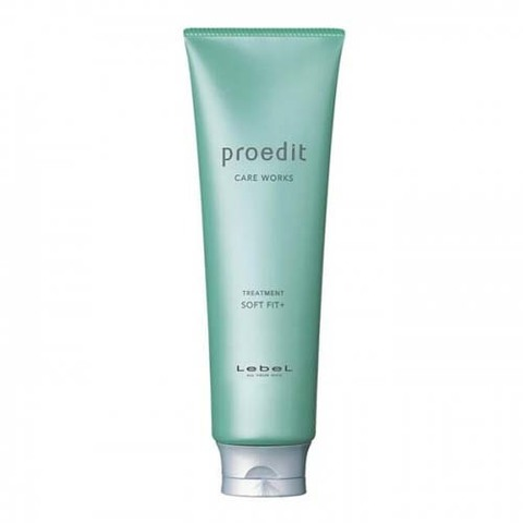 Lebel Proedit Soft Fit Plus Treatment - Маска для жестких, непослушных/очень поврежденных волос