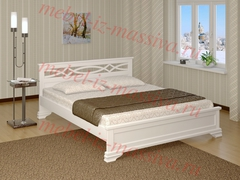 Кровать из массива сосны Лира