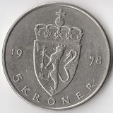 K5283, 1978, Норвегия, 5 крон