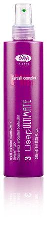 Разглаживающий, термо-защищающий флюид для волос «3-LISAP ULTIMATE STRAIGHT FLUID» (250 мл)