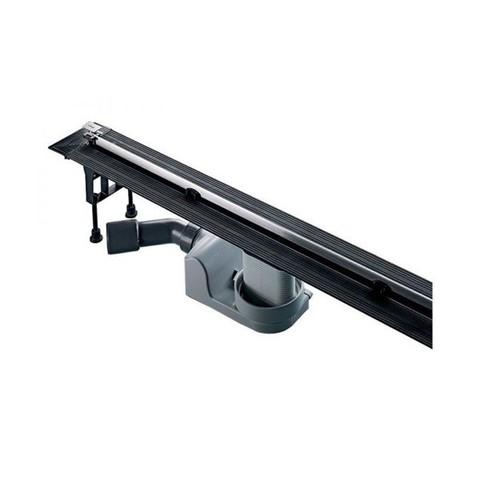 Душевой лоток Viega Advantix Vario Set 704360 с опорами и дизайн-вставкой хром глянцевый