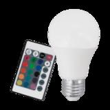 Лампа Eglo диммируемая RGB с пультом LM LED E27 3000K 10899 3