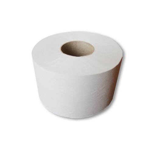 Бумага туалетная д/дисп 1сл сер втул 130м Первая цена 12рул/уп 130G1