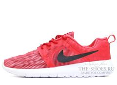 Кроссовки Мужские Nike Roshe Run SMR RedWhite