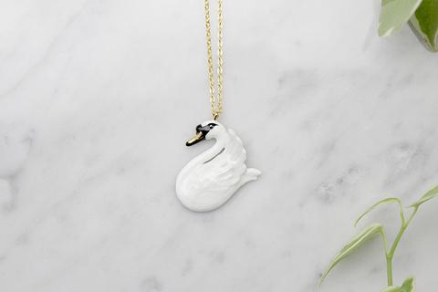 Колье Лебедь