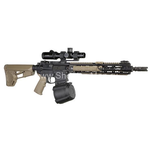 Магазин Magpul PMAG D-60 для AR/M4 5.56X45MM NATO черный