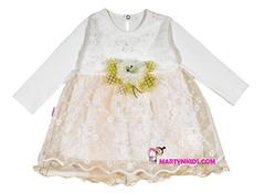 397  платье золотая розочка
