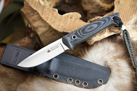 Туристический нож Santi AUS-8 Satin Kydex