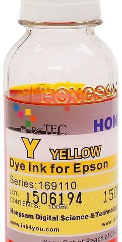 Чернила водные DCTec R1900YD Yellow 100мл. Серия 169600