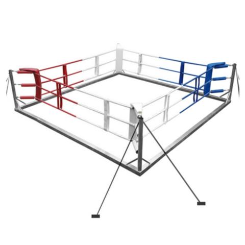 Боксёрский ринг напольный на растяжках 6x6 TOTALBOX Р 78-6