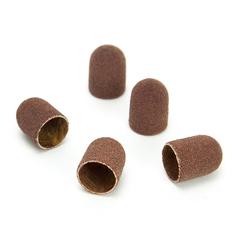 ruNail, Колпачок абразивный, 10*15 мм, 120 грит (5 шт.)