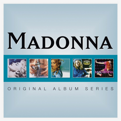 Madonna / Original Album Series (5CD)