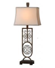 Лампа настольная Uttermost Cesarino 27677