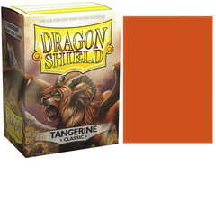Dragon Shield - Протекторы Tangerine 100 штук