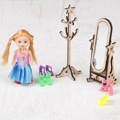 Кукольная сборная мебель