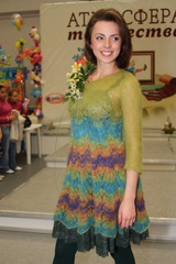 Описание платья Primavera (автор Лена Родина)
