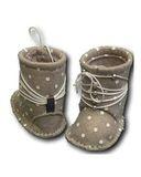 Сапожки из фетра со шнуровкой - Детали. Одежда для кукол, пупсов и мягких игрушек.