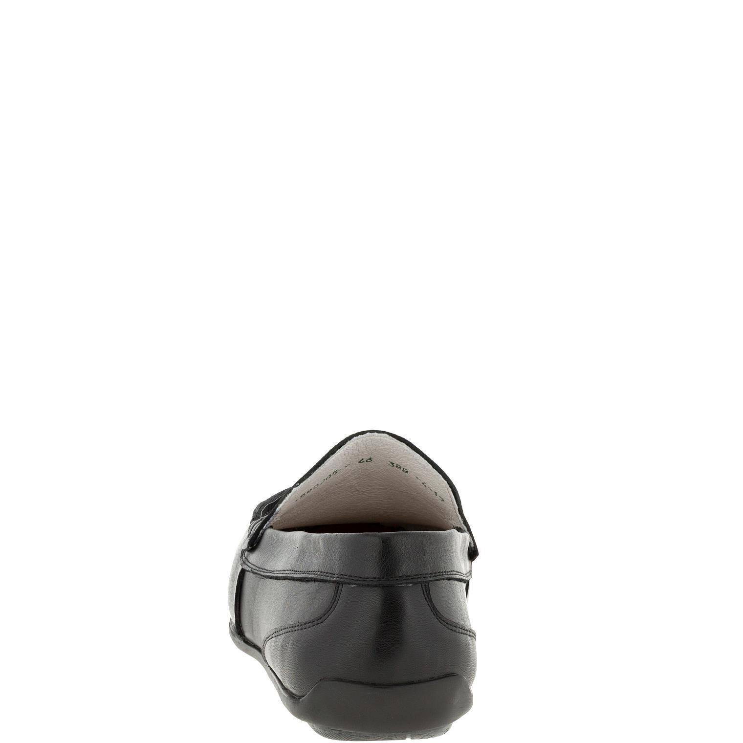 580205 Мокасины мужские кожа больших размеров марки Делфино