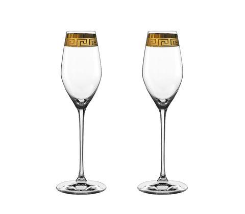 Набор из 2 хрустальных фужеров для шампанского MUSE, 300 мл