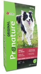 Корм для взрослых собак всех пород, Pronature Original DOG ADULT ALL BREEDS, с ягненком, горохом и ячменем