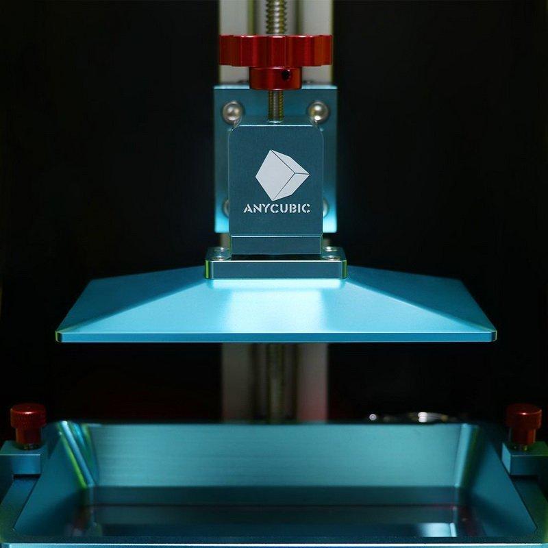 процесс печати 3D-принтер Anycubic Photon