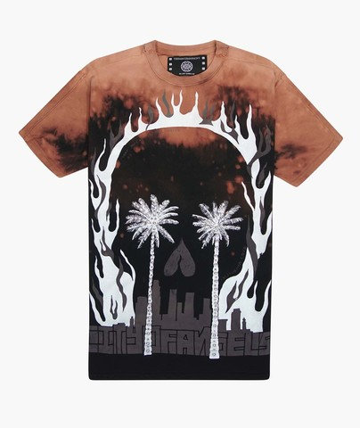 Футболка The Saints Sinphony PALMS SKULL TEE