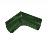 Угол желоба внутренний ф125-90гр (RAL 6005-зеленый мох)