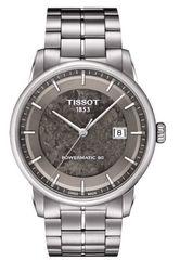 Мужские швейцарские наручные часы Tissot Luxury Powermatic Jungfraubahn T086.407.11.061.10