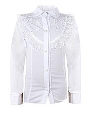 0325 блузка детская, белая