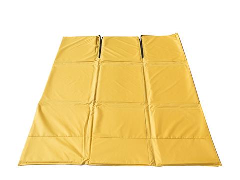 Пол СТЭК 2 (1,75м*1,75м)Оксфорд 600 (Синий/Желтый)