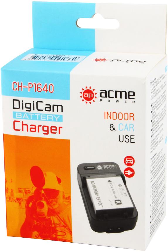 Зарядка AcmePower AP CH-P1640 для Sony NP-FH50/ NP-FH70/ NP-FH100/ NP-FP50/ NP-FP70/ NP-FP90/ NP-FV50/ NP-FV70/ NP-FV100 (Зарядное