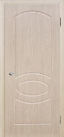 Дверь Сибирь Профиль Неаполь, цвет беленый дуб, глухая